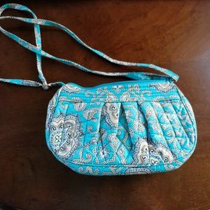 Vera Bradley Totally Turquoise Small Purse